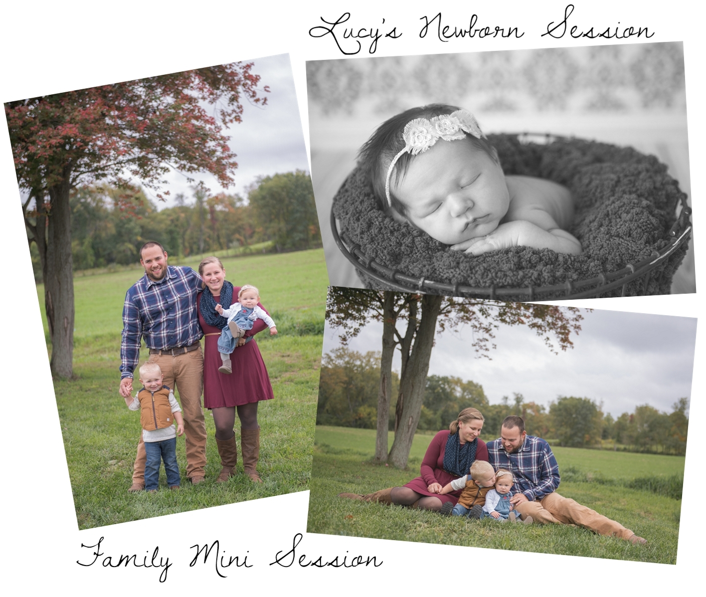 The Avery Family & Newborn Session