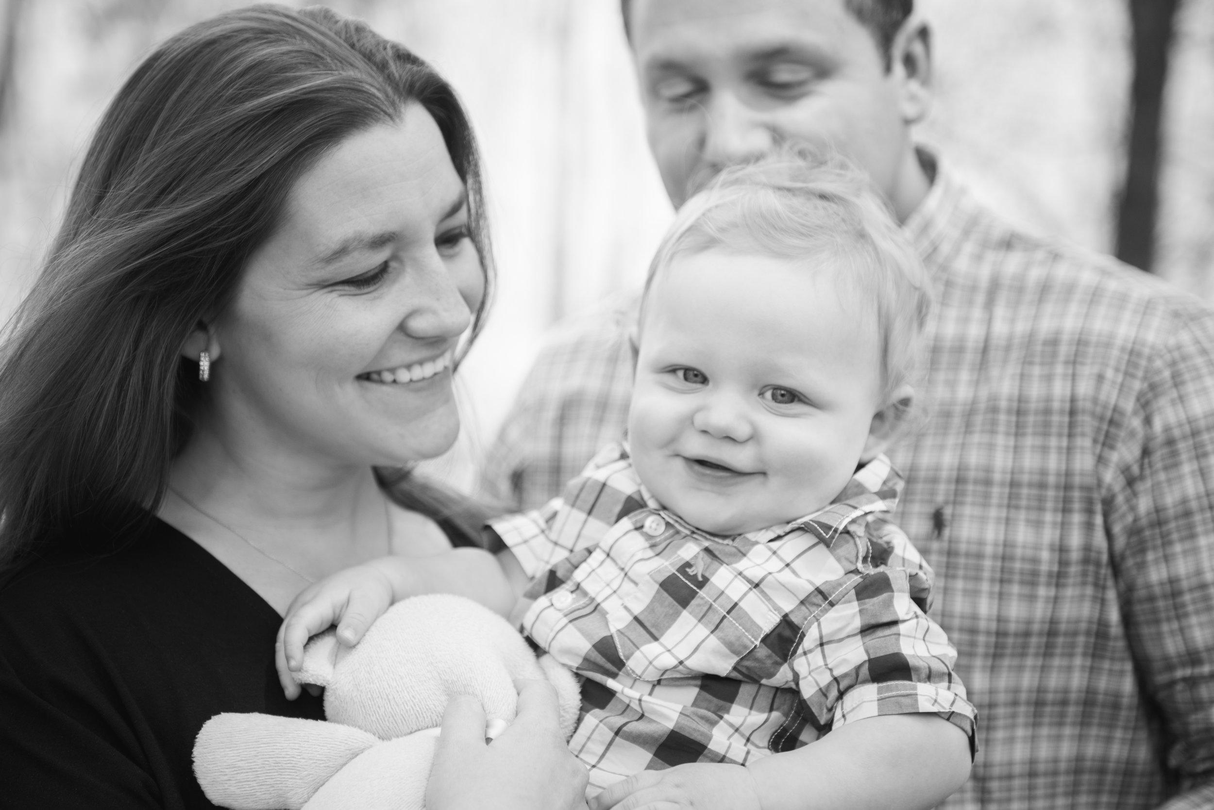 CT Family Photographer | Baby Family Session | Heather & Sarah Photography | www.heatherandsarahphoto.com
