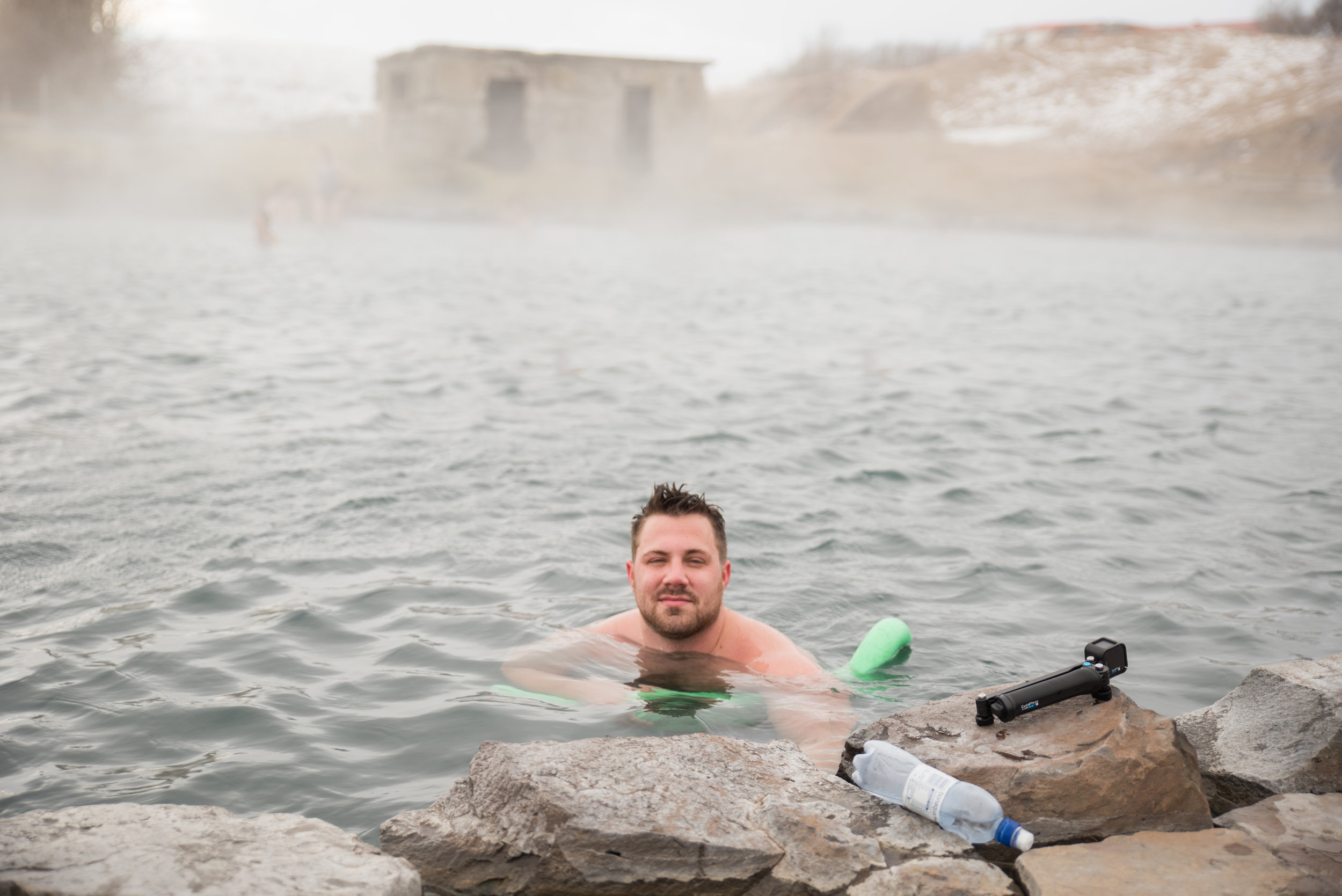 This little gem was called the Secret Lagoon. It was amazing of course. I mean how can it not be when its freezing outside and snow is falling but you are soaking in a natural hot tub?!