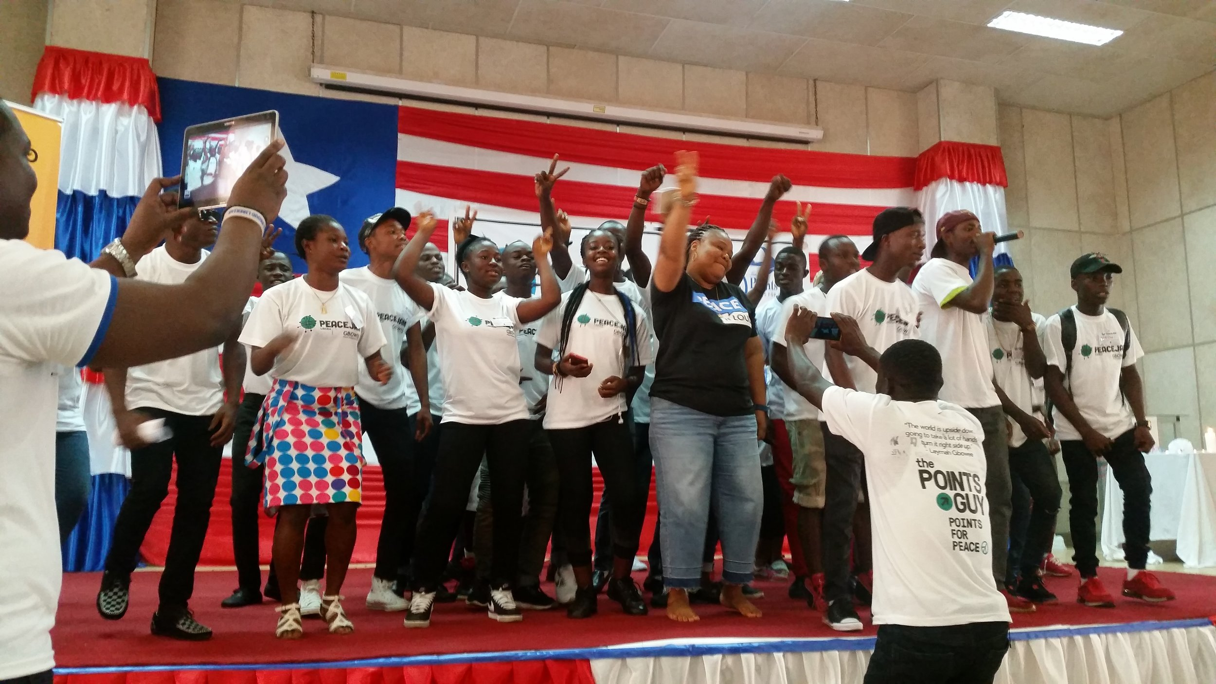 Work With Us - Help us invest in women and youth, and build a better future for Liberia, West Africa and the world!