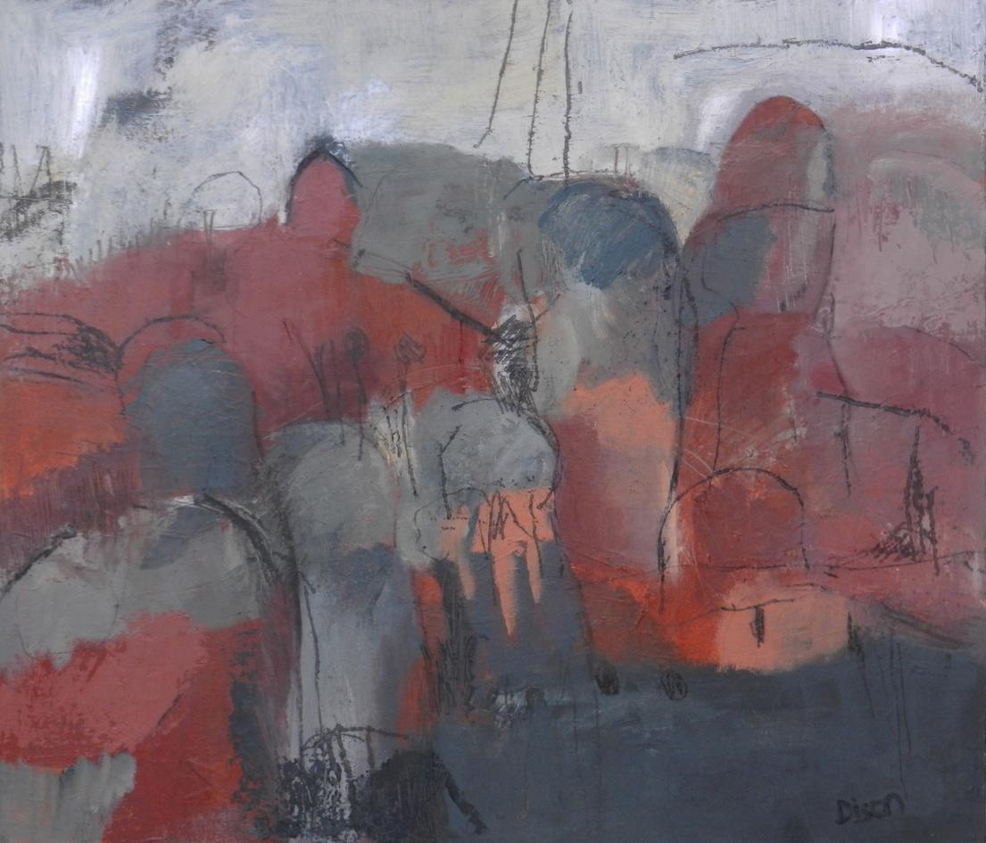 Conigar  Oil on canvas on board 51 x 59 cm