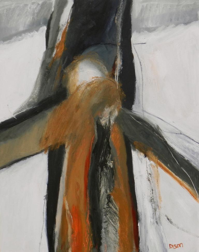 Rising Oil on board, 50 x 40 cm 2015