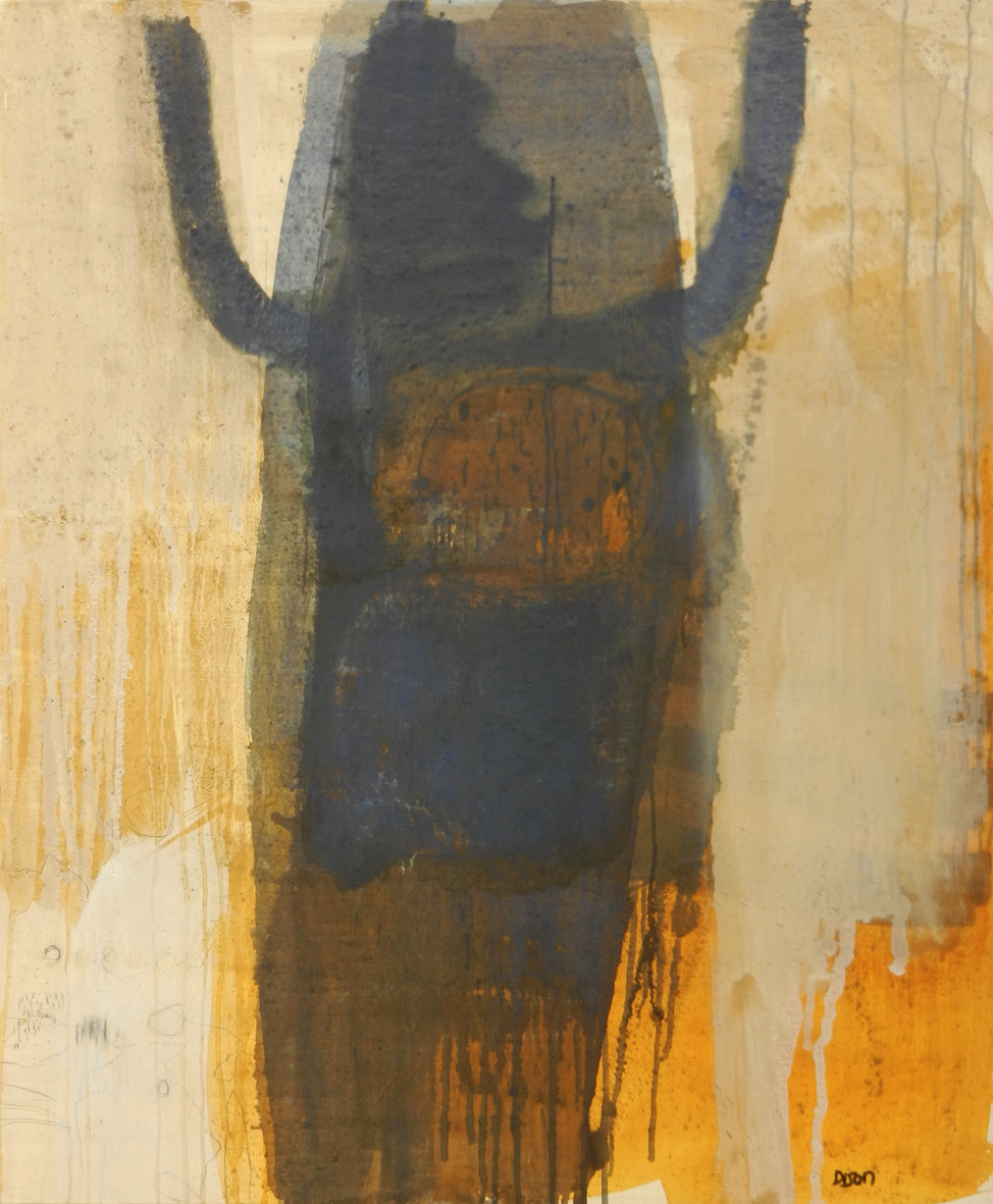 Power Figure Mixed media on canvas 118 x 98 cm 2016