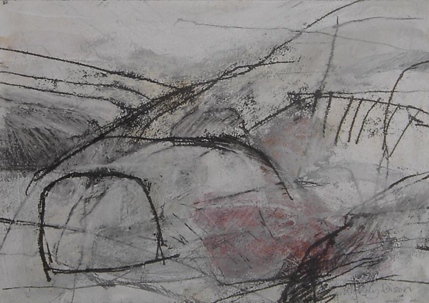 Sanctuary 6 Mixed media on paper 25 x 36 cm 2013
