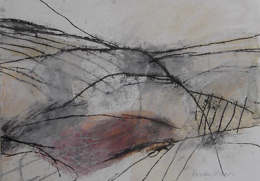 Sanctuary 7 Mixed media on paper 25 x 36 cm 2013