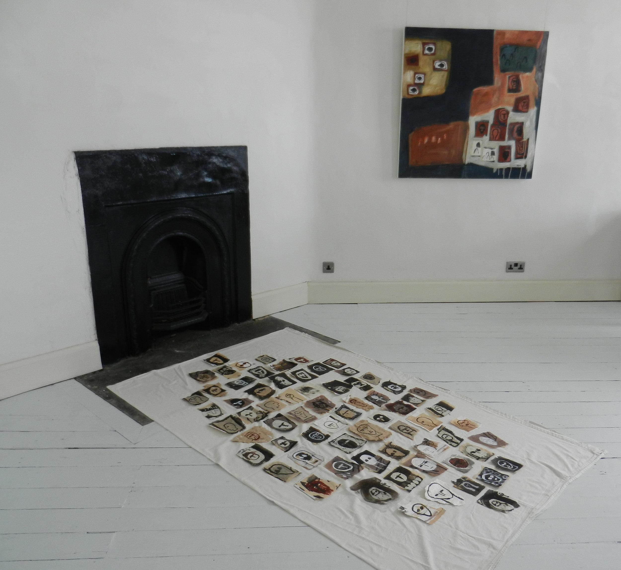 Installation, Damer House, Roscrea, 2019