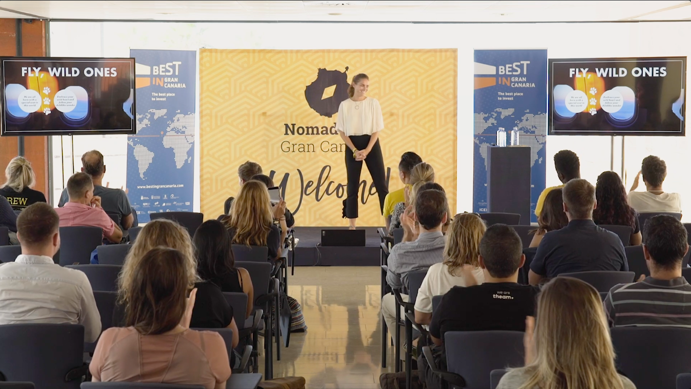Gran Canaria, Spain: Personal Branding Speech at Nomad City
