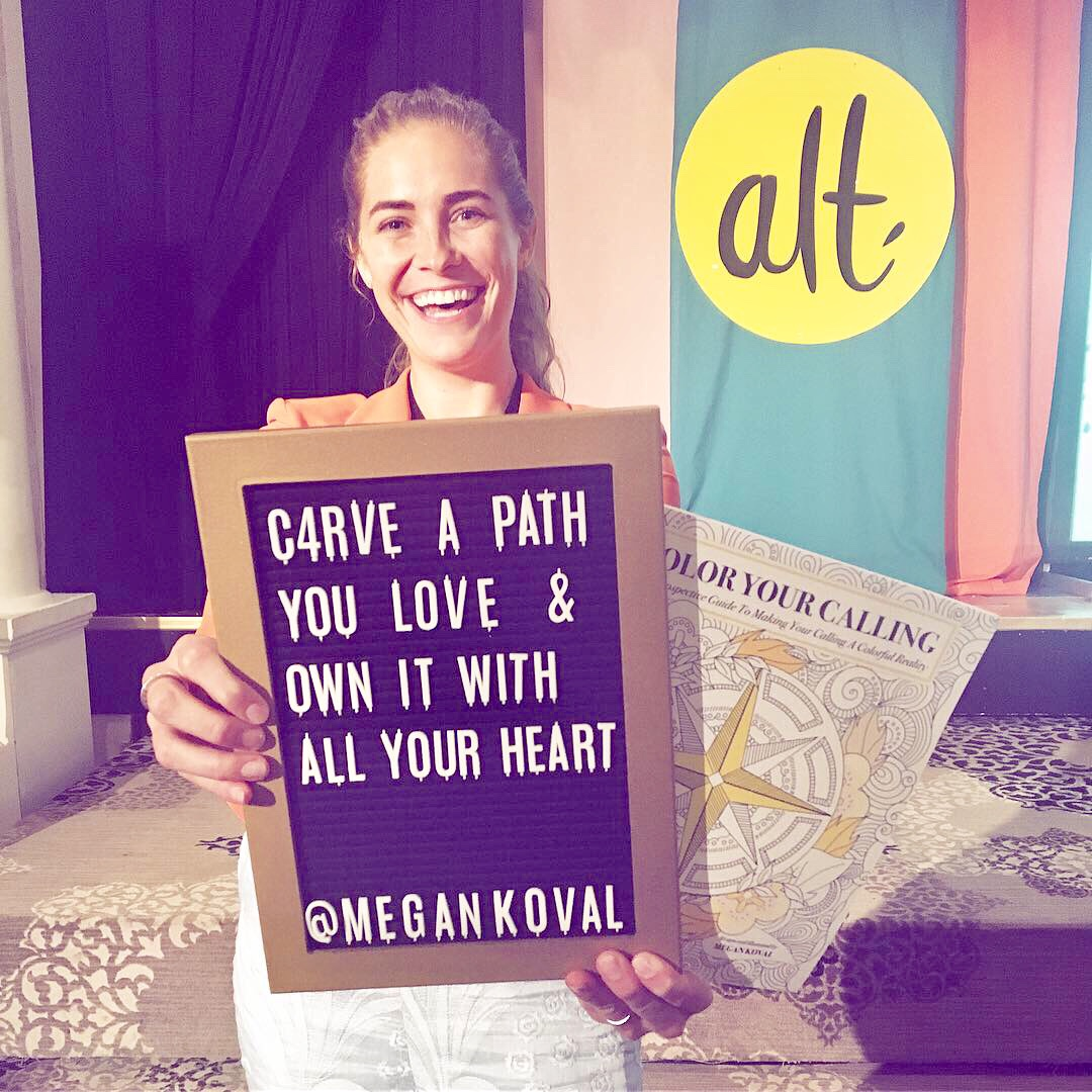 If you want to carve a path you love (or already have), I'm here to help you own it with all your heart! - That means building you a strong personal brand to propel your path.