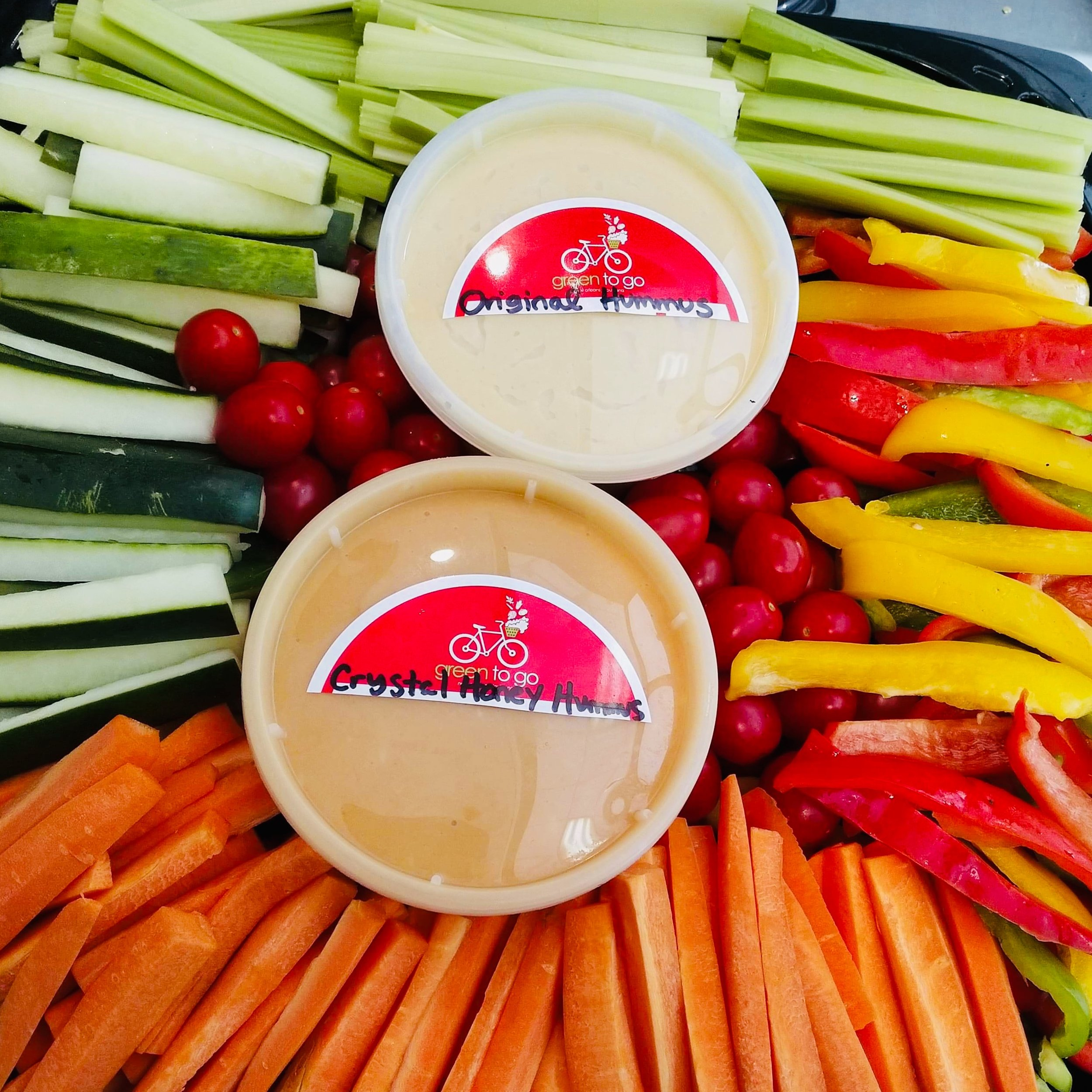 Hummus & Vegetable Tray