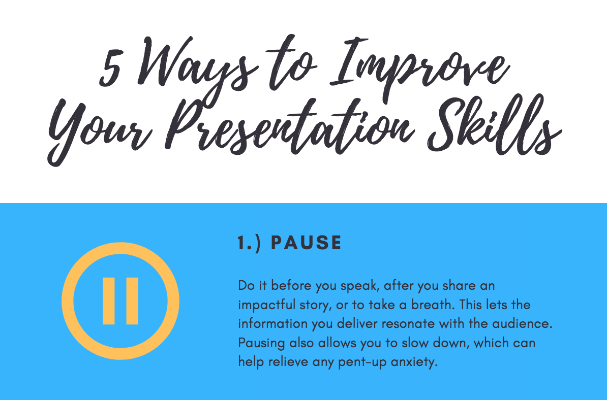 5 Ways to Improve Your Presentation Skills