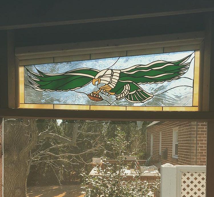 1980's Eagle's Logo-Custom Fabrication