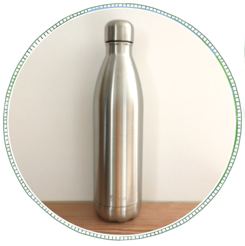 - £22From brand Qwetch. Made from 18/8 Stainless Steel. Isothermal double wall bottle, keeping drinks cool for 24hrs or hot for 12hrs.750ml large size, great for family sharing, all day, picnics.Remove the need for plastic water bottles and refill.