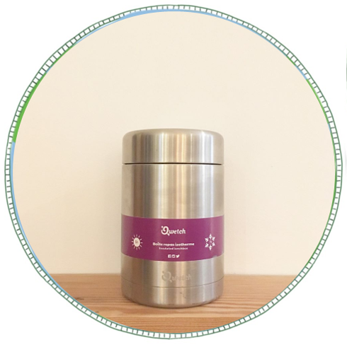 - £30From brand Qwetch. Made from stainless steel and keeps food warm for 5 hours and cold for 7 hours.Leakproof guaranteed this jar doesn't alter flavour and taste.Remove the need for fast food that comes in packaging and opt for a packed lunch instead!