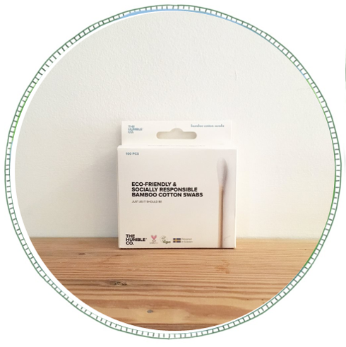 - £2.50From brand The Humble Co.Made with a biodegradable bamboo stick and BPA-free cotton swab.A great alternative to plastic cotton ear buds.
