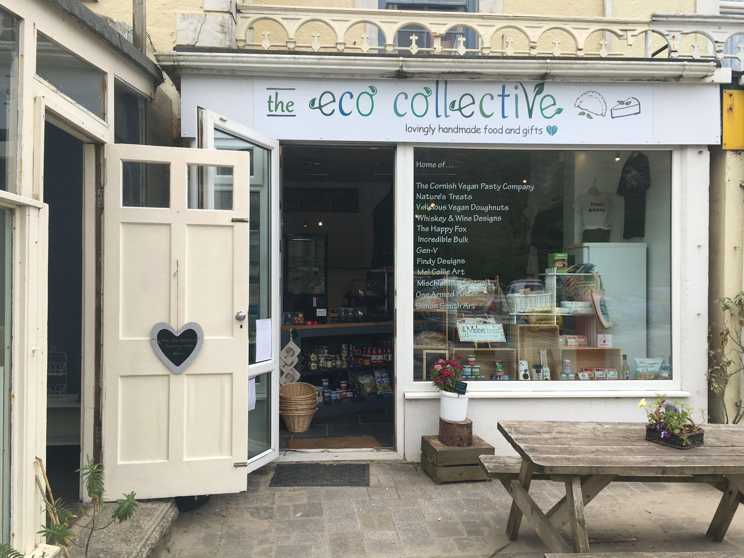 The Eco Collective - PorthtowanMon - Sat10.00am - 5.00pmSun10.00am - 4.00pm