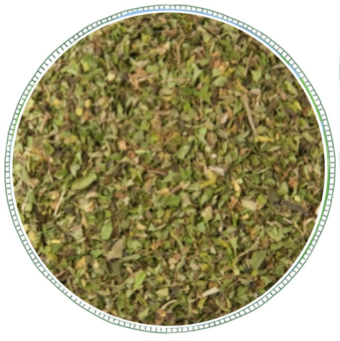 - From brand Westcountry Tea CoMade from cut peppermint leaves, this tea produces a honey tan infusion and has a cool and clean taste with a wonderfully refreshing aroma. Caffeine Free.