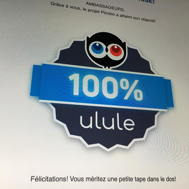 Objectif Atteint! Go pour 150%! ulule.com/picobo #picobo #jeu #education #éducation #jeudesociété #toy #échecs #école #jeudetable #montreal #quebec