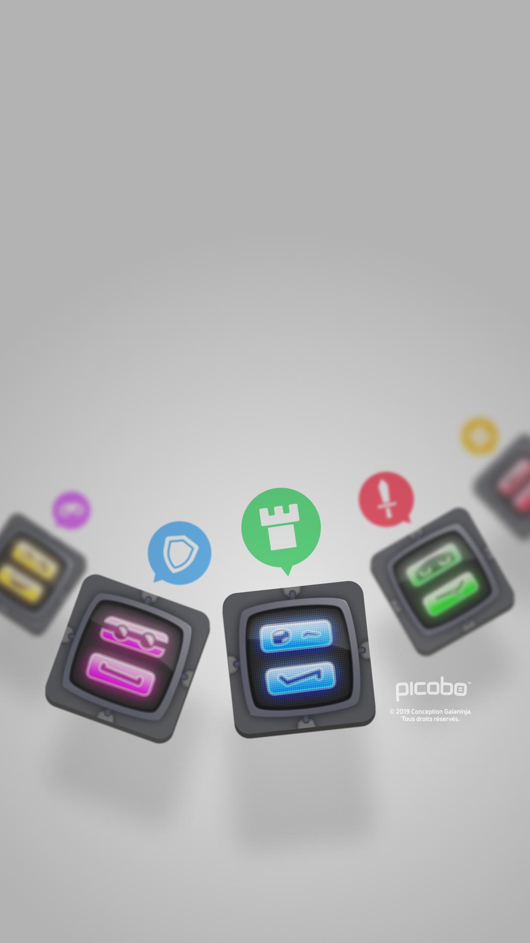 Fond Picobo pour téléphone