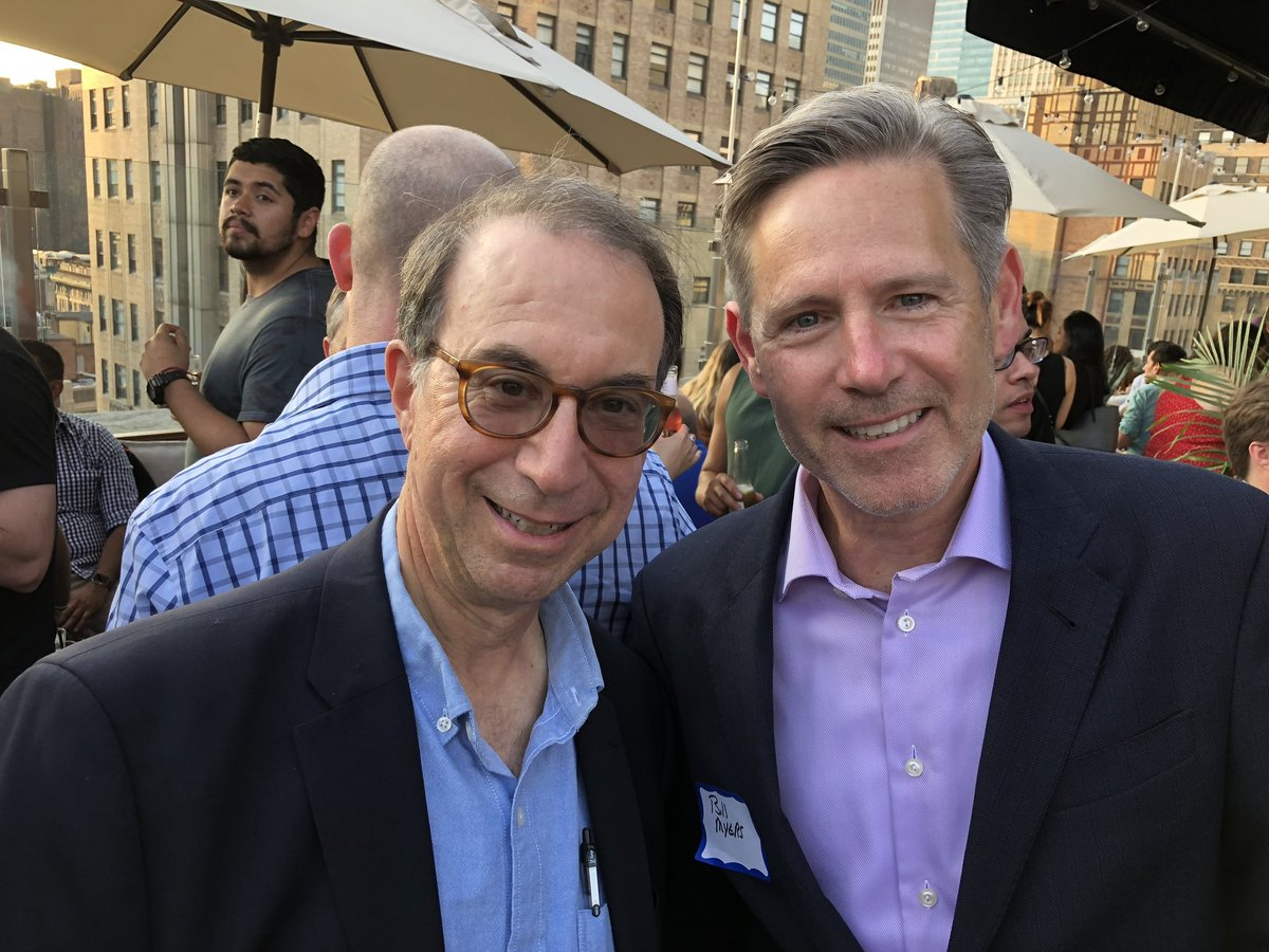 New York Times best-selling author Robert Masello with Bill