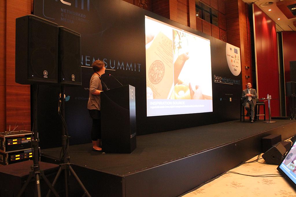 Presenting prototype, 2012 Istanbul,Turkey