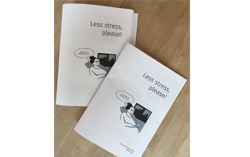 Stress free navigation  Booklet for the team understand the users real situations
