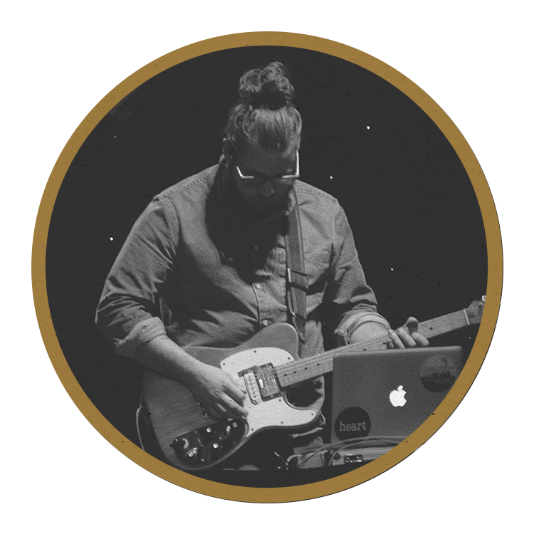 Jake nielsen - synth, piano, electric guitar, studio engineer, songwriter (we belong to you, jesus is lord of all)