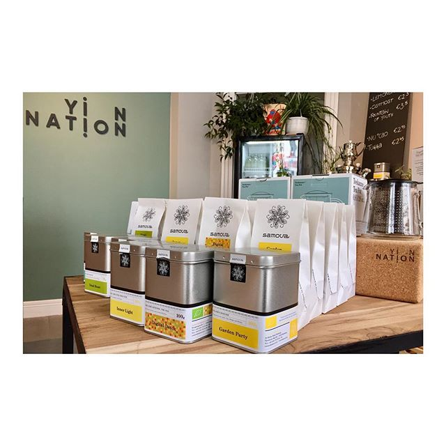 Made in Germany @samovartea at Yin Nation • #yourhomewithin
