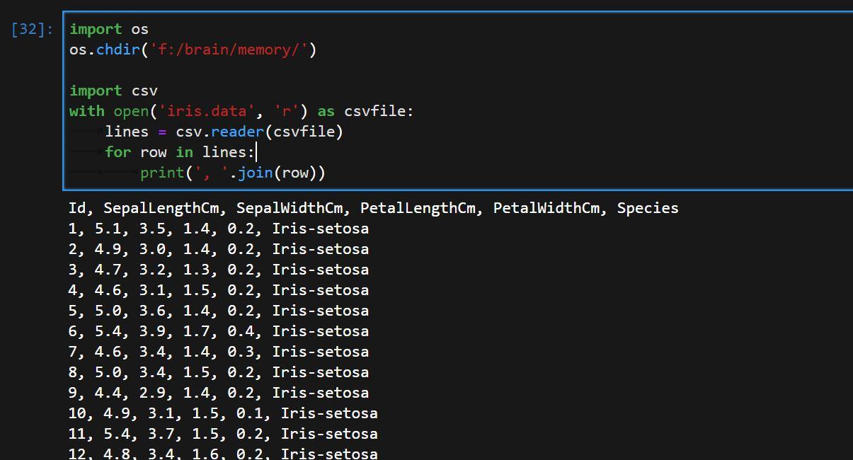 Opening Big Data CSVs for KNN Classification Algorithm.JPG