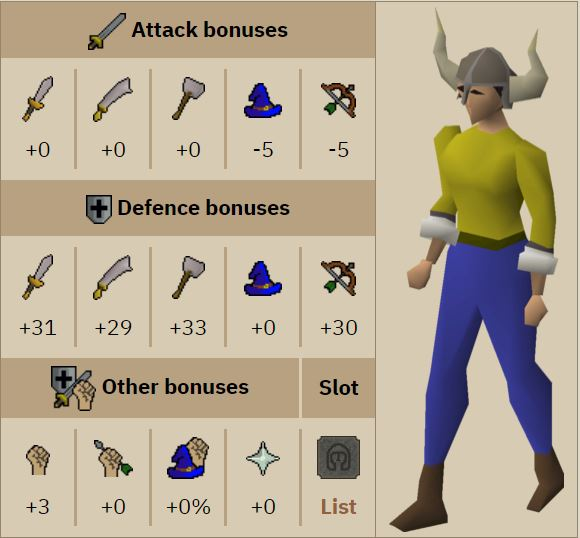 OSRS - 50 Attack Rag Zerk Account Build (Quests/Items