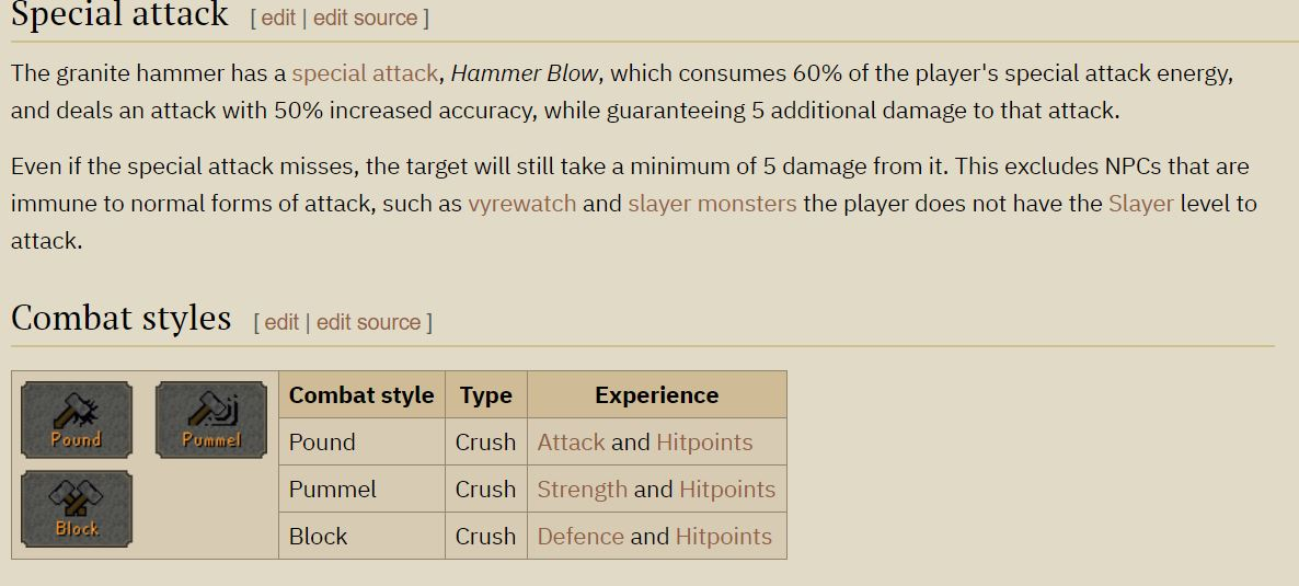 Definitely try this weapon out with rune defender. Hammer wacks 29s at 82 str and 34s at 99