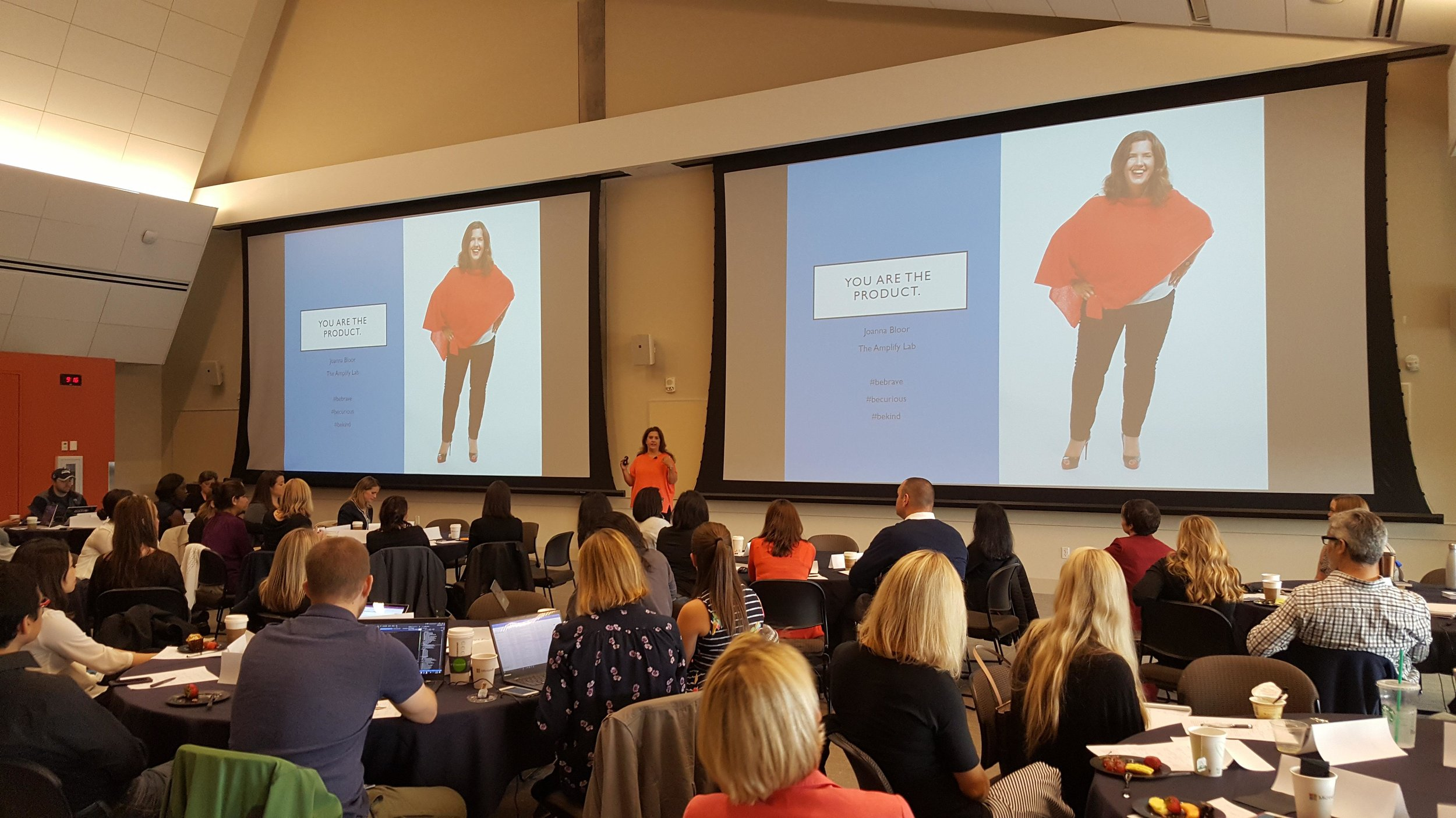 Women of Office Marketing Event. Seattle WA