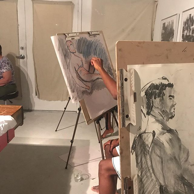 Teachers pets... THURSDAY NIGHT  Life Drawing We have room tomorrow night...come join us! Kailuagallery.com