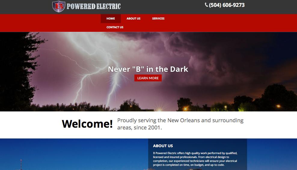 """B"" Powered Electric    ."