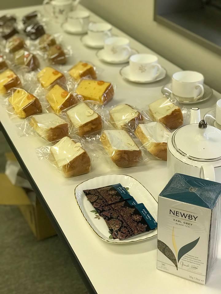 - 頭をフル回転して受講いただいていたので、美味しい紅茶とケーキでの休憩は受講生の皆様にはホッとできる時間になったのではないでしょうか。