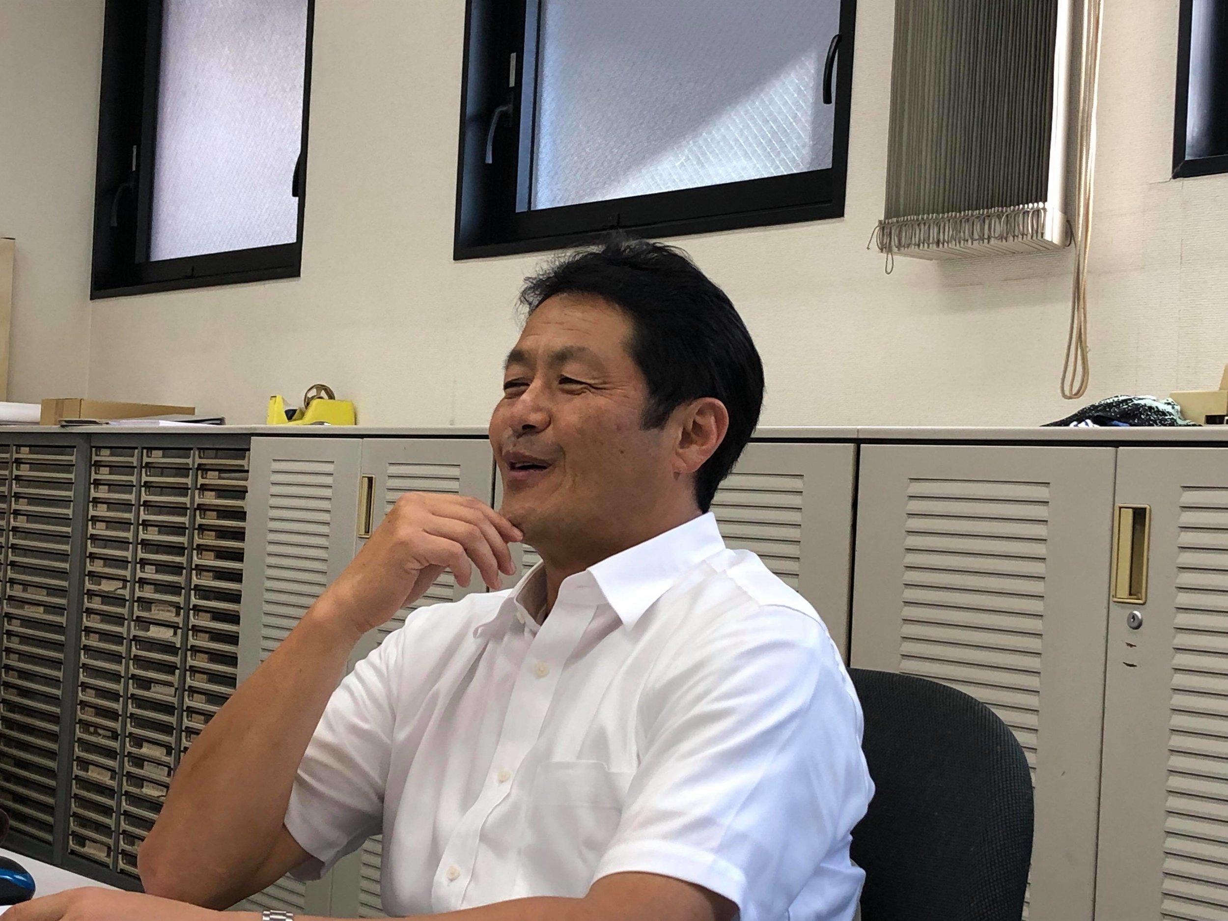徳島合同証券株式会社 泊健一社長