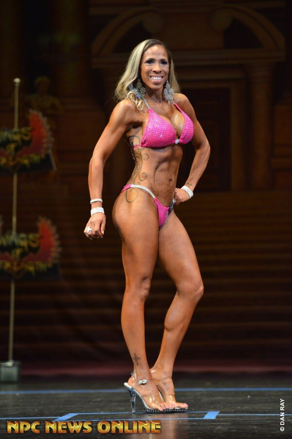 Irene's Competition Results - NPC Charlotte Cup2nd Place Masters Over 458th Place Class ENPC Victory Classic2nd Place Masters Over 455th Place Class C4th Place Masters Over 40NPC Border Klash8th Place Masters Over 45NPC Lenda Murray Classic1st place Masters Over 451st place Novice Class B4th place Class B© Photo by Dan Ray
