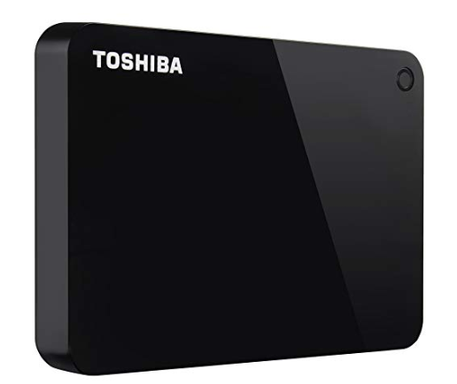 3.  External hard drive