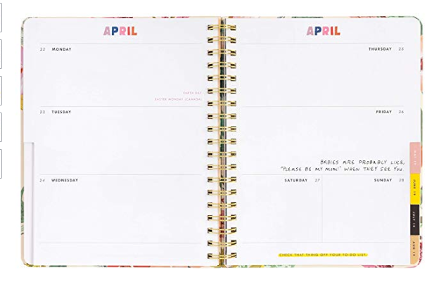 4.  Planner/Notebooks