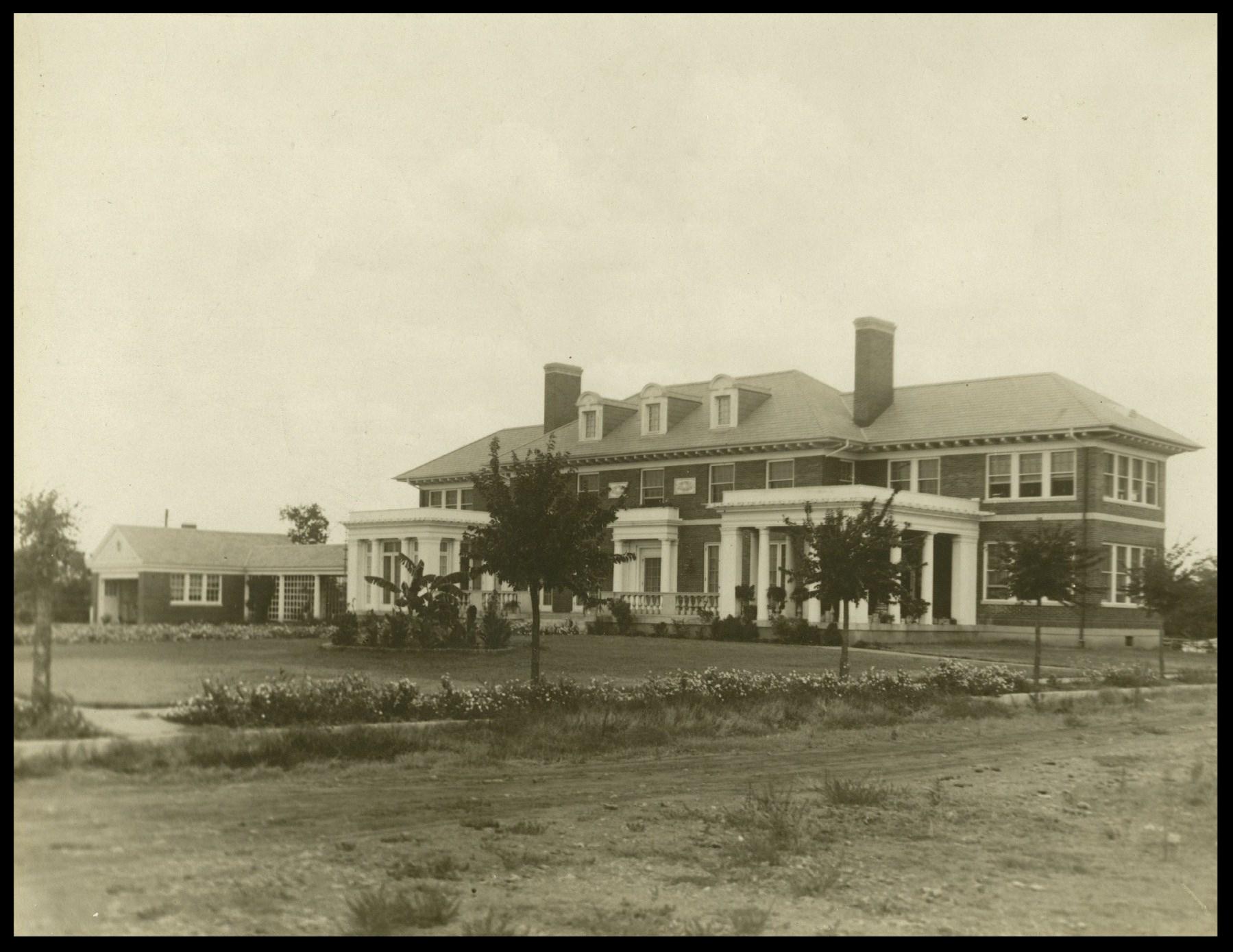 Watson House, Spring 1920