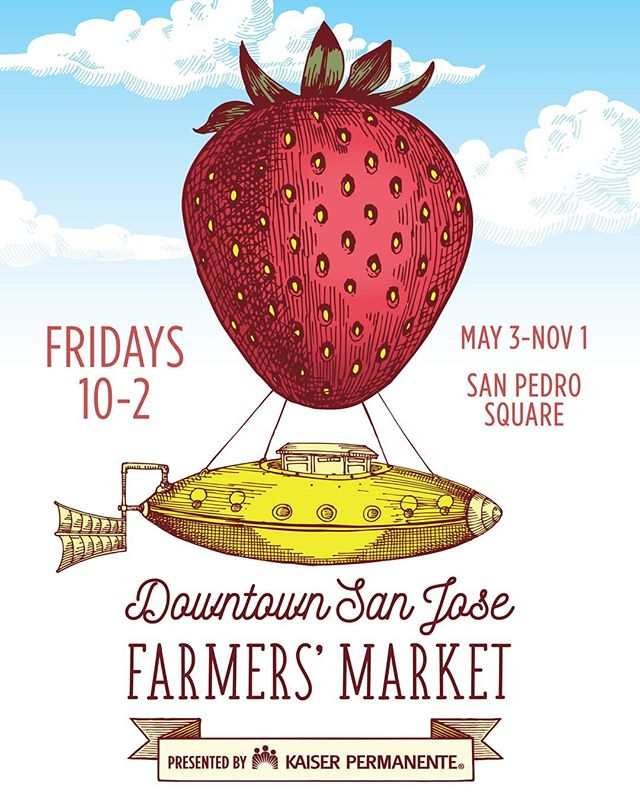 Yah! The Downtown San Jose Farmers' Market by @sj_downtown returns this Friday, May 3 from 10 am to 2 pm. Find this wonderful Friday tradition every Friday this Spring, Summer and Fall in #SanPedroSquare. While you're there, make sure to visit the amazing shops at @moment.sj. On May 3, our latest and greatest shop by @travelingcalligrapher will be having its soft opening. Be the first to see this new space featuring an art studio, an artwork and stationery shop, custom calligraphy services and creative workshops scheduled all throughout the summer! Additionally visit definitive faves @fractalflora and their much loved plant & gift shop and new fresh flower bar and burgeoning fave @thesourcezero with her awesome array of products to help you live a more sustainable lifestyle. Find the Farmers' Market and MOMENT at 60 N. San Pedro Street, San Jose, CA 95113. Open from 10 am to 8 pm on Fridays. Go to Moment-SJ.com for more info and details. #SanJose #wearesj #ilovesj #408 #BayArea #dtsj #shoplocal #buylocal #supportlocal #shopsmall #madeincali #makerculture #makermovement #makersgonnamake #makers #diy #shophandmade