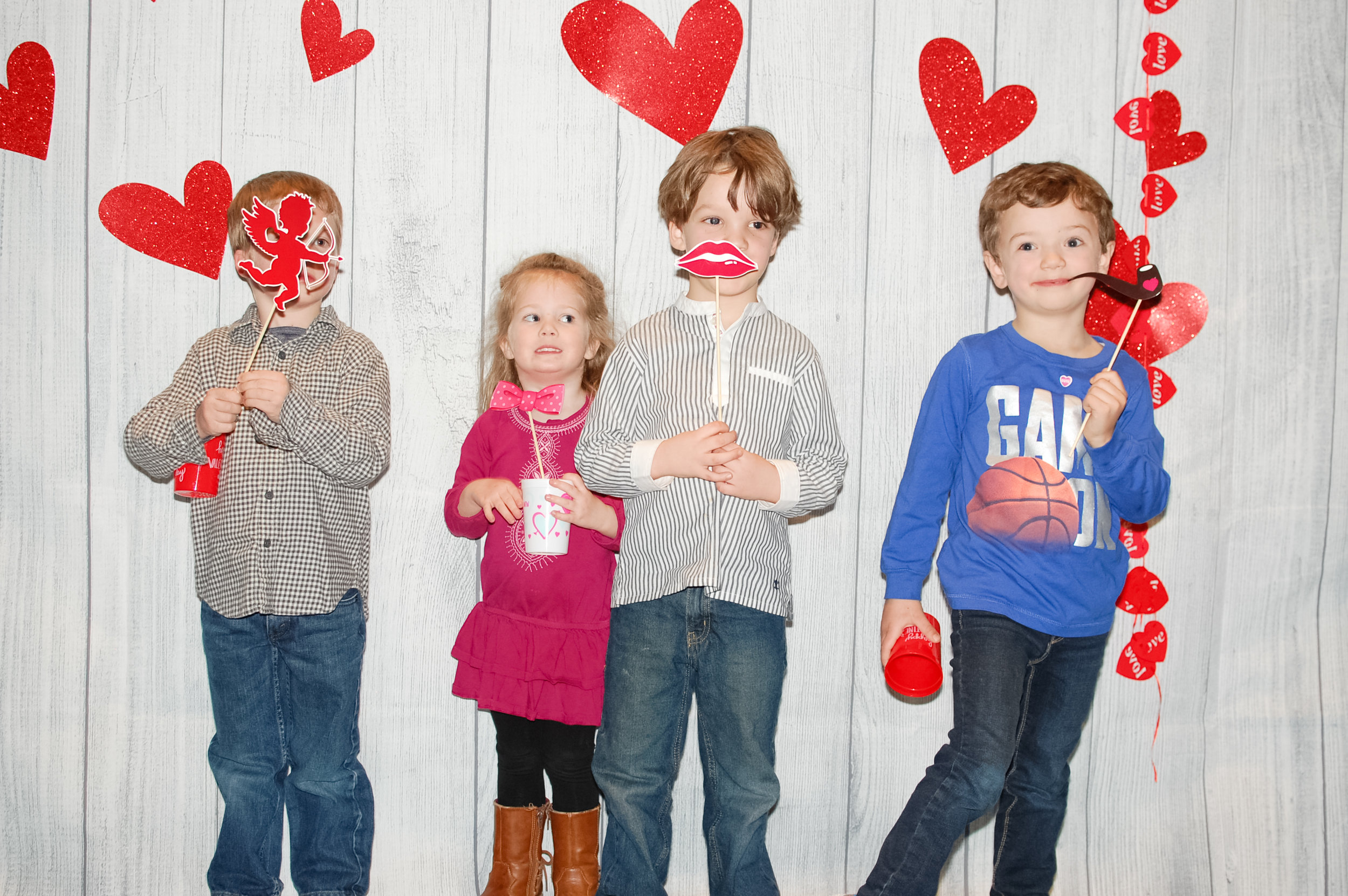 Valentine's Day Dinner - One of our newer school events is our Valentine's Day pasta dinner.  In February, our school community gathers for a potluck meal, music and fun.  This event gives our families the opportunity to socialize together while the children get extra time to play!
