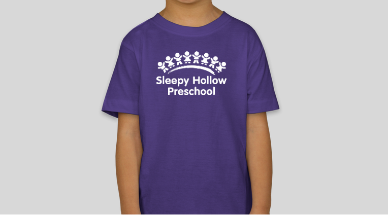 Contact our fundraising co-chairs,  Becky Radich  &  Sonja Garvey , to purchase a shirt for yourself or your child at school. Child sizes are $15 ($18 for Tye-dye) and adult sizes are all $18. We also have Sleepy Hollow totes available for $18. If we dont have your size, don't worry. Fill out this  online preorder form  and once there are enough requests placed we will get another order!