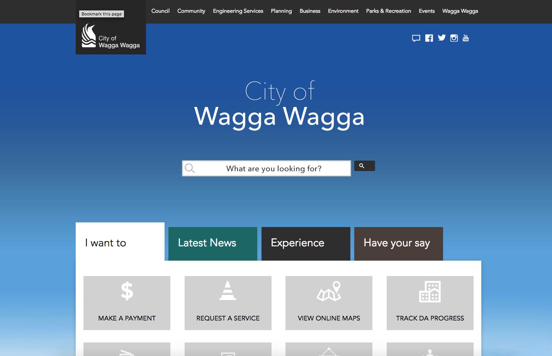 Wagga Wagga City Council - https://www.wagga.nsw.gov.au/