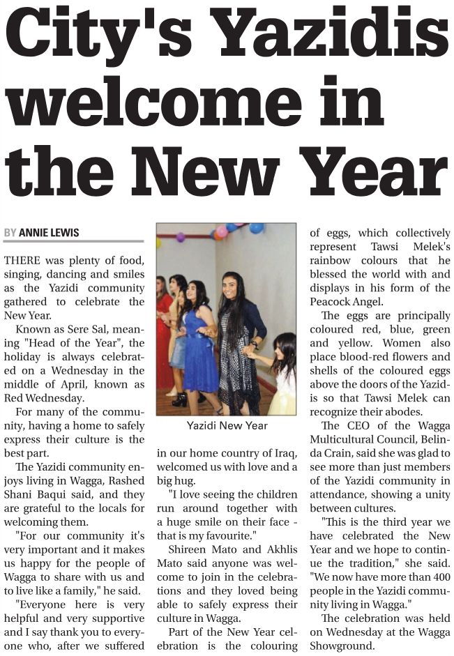 Daily Advertiser, 20th April 2019