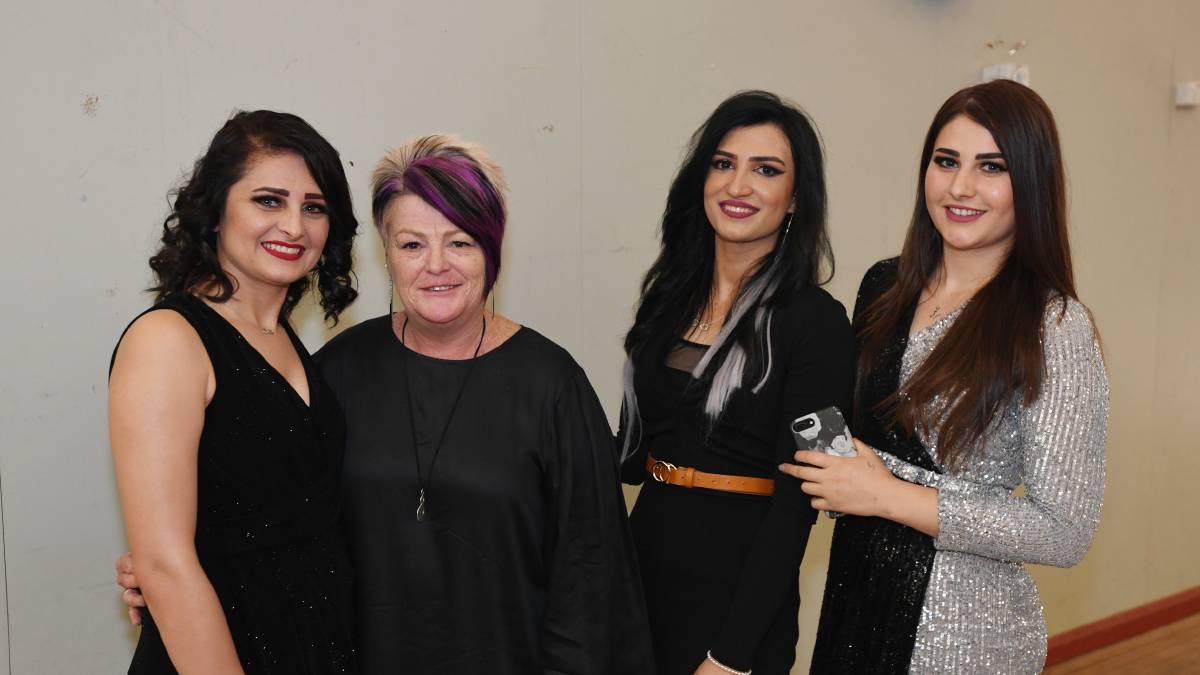 Jilan Khato, Belinda Crain, Nasreen Khato and Amera Jeejo.jpg