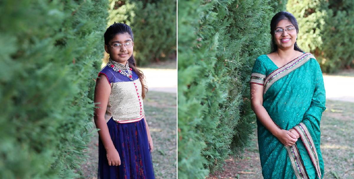 """FASHION FROM HOME: Saba Nabi and Ariba Omar, 9, wear the traditional outfits suitable for the age and status. Picture: Emma Hillier    There is nothing quite like wearing a sari for the very first time, said one Wagga woman.    Over the coming weeks, The Daily Advertiser will be highlighting fashions from cultures that are thriving in Wagga with women leading the way forward.Saba Nabi said the traditional dress in India is the well-known sari that has been around since medieval times.    """"It comprises of a short skirt and then you tie the five-yard sari around it as well as the blouse,"""" she said. """"You wear this on all occasions, whether formal or informal. """"During weddings and festivals, you wear all the bright colours.""""Ms Nabi moved to Wagga six years ago from Delhi to finish her PhD at Charles Sturt University and became an Australian citizen in 2018. She said she loves green so tends to choose saris in that colour. """"When you are a teenager and you graduate from school, that is the first time you wear a sari,"""" Ms Nabi said. """"It makes you feel more grown up and then after marriage most of the girls wear saris. """"I was so happy when I wore my first one and I borrowed a lot from my mum.""""    Elections, cocktail parties, weddings and other occasions are all times to wear a sari, Ms Nabi said. """"I love to dress in a traditional way when I can,"""" she said. """"It gives you a distinct identity; I am Australian and Indian at heart. """"More commonly, women will wear a tunic with leggings for a more casual look because it is more comfortable. """"MS Nabi said her daughter is wearing a lehnga, which is made up of the long skirt and the top, known as the choli. """"That's what young and unmarried girls wear,"""" she said.    Ariba Omar, 9, said she loves wearing the lehnga. """"I feel very pretty in it,"""" she said. """"It is a very long skirt with a very pretty top. """"Some of these are very itchy, but some of them are very soft but the good thing is how pretty it is.""""Ariba said she could not wait for """