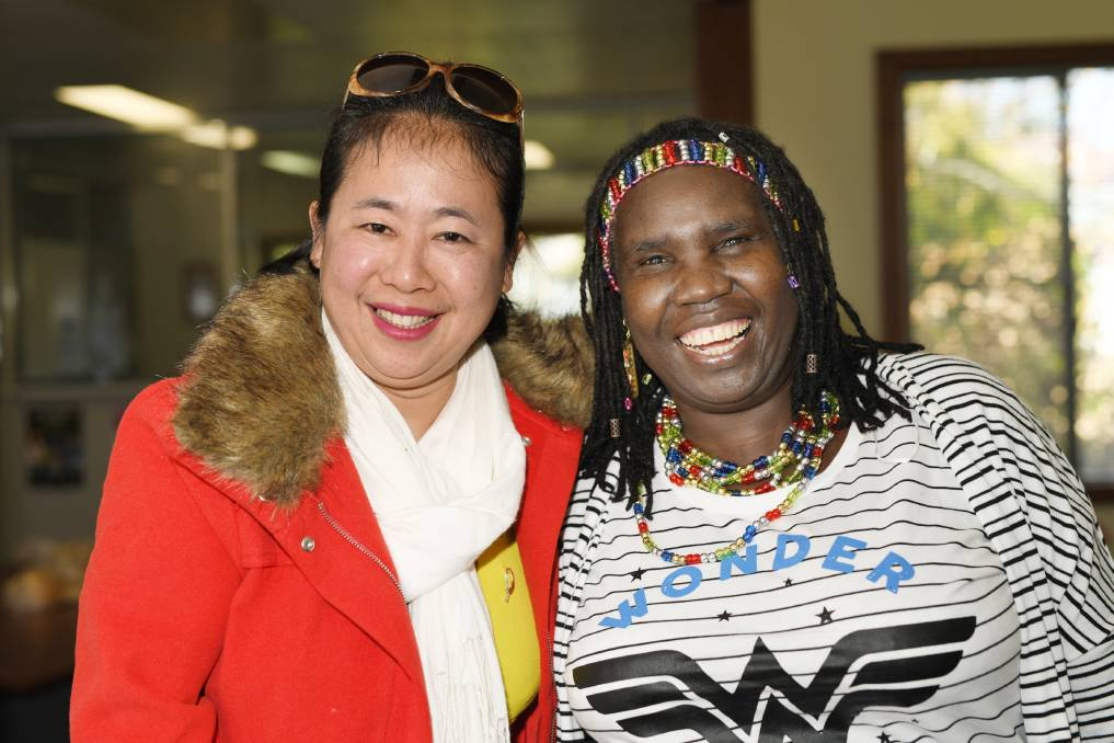 """CONFIDENCE: Htu San La Bang and Constance Okot say the voting system in Australia gives them confidence for their future.    Elections can be a confusing time for everyone, from the unknown candidates, to sifting through policies and navigating the papers with seemingly endless boxes to tick.    Yet one portion of the Australian population are often forgotten during these times, despite needing more assistance than most to place their votes.    Refugees and new Australian citizens receive little education regarding how to participate in elections.    Constance Okot moved to Australia in 2005 from Sudan, and has been voting as an Australian citizen since 2007.    """"I've voted a few times now, for mayor and premier and prime minister, even though I don't really know what I'm voting for,"""" she said.    """"We still don't really know what we are doing and who we are voting for but we do it anyway because we don't want to pay a fine.""""    Miss Okot said despite the process being a little overwhelming at first, it was vastly more positive than the process people went through in Sudan.    """"In Sudan, or rather Africa in general, there is a lot of bribery. They bribe people to vote for them, they will give money to make people vote for them or they will be at the voting stations telling you want to do and make you scared if you don't listen,"""" she said.    """"There was a lot of pressure. If you don't want to vote for that person though, it is a problem, sometimes people are killed, there are a lot of killings because people are fighting for leadership. It's not always safe.""""    In Australia however, Miss Okot said the experience was far less threatening.    """"Here though, even though you don't know who you are voting for, it is peaceful,"""" she said.    """"You vote, but the Government will always know what they're going to do, the issues aren't as serious as worrying about whether or not you will survive. I'm very happy with that, there's no fear.""""    One of the benefits of the Australian"""