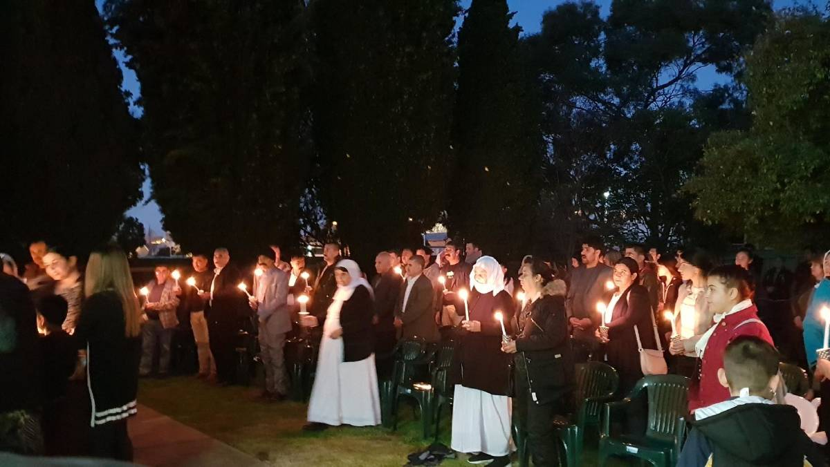 """More than a hundred people gathered to mourn the slaughter of Yazidi people during the Kojo village genocide.    Shireen Mato, now a Wagga resident, used to live in the village before ISIS surrounded the town in 2014. After 13 days, ISIS gathered people in a community hall.    """"First they collected and kept all of the belongings and separated women from men,"""" Ms Mato said. """"Then took men and teenagers outside of school and shot them in 12 different locations.    """"My sister was in ISIS captivity for about one year. she was tortured physically and psychologically.""""    Ms Mato's sister was sold for less than $100 to four men as a sex slave. A friend of her's refused to marry an ISIS soldier, so her husband was killed. They gave her food for the children, but Ms Mato said when her friend awoke she discovered they had been fed poisoned food and her children had died.    She added that one month would not be sufficient enough time to tell all of the atrocities the Yazidi people faced."""