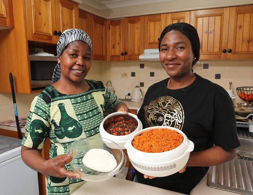 """BEST FRIENDS: Sophia Duywili and Kehinde Ayedera met in Wagga, and have been friends since day one. Picture: Les Smith    After meeting in Wagga, two women developed a fast friendship and now are excited to share food from their culture with Wagga. It's almost that time of year where residents and visitors can eat dishes from around the world to their heart's content.    In the spirit of the upcoming Fusion Festival, The Daily Advertiser is profiling some of the delicious cuisines that can be found in this city, and the people who can cook them with their eyes closed. Kehinde Ayedera moved to Wagga more than six years ago with her family. """"I am from Nigeria,"""" she said. """"I moved here with my husband, and he came as a skilled immigrant. """"Wagga is great, and I love it here."""" Mrs Ayedera said she loves cooking Nigerian food, whether for family or herself."""