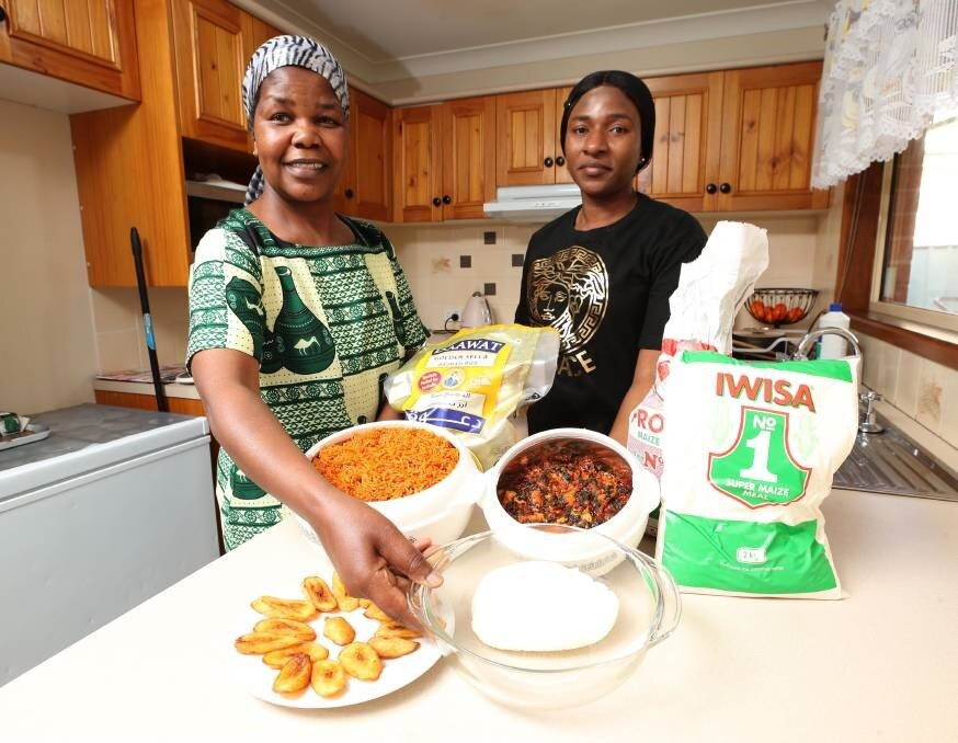 """""""I cannot do without my food, I am used to it, and it is part of me,"""" she said. """"I feel at home when I cook, and I feel like I am back in my country. I have four boys, and I will teach them how to cook. It is part of your culture.""""    Mrs Ayedera said jollof rice - made with capsicum, spices and stock - is an everyday staple among households. Originally from Zimbabwe, Sophia Duywili moved to Wagga in early 2009 after living in Sydney for four years. """"I love it here, away from the big city,"""" she said. """"I met Kehinde through the church, and now we have become family."""" Ms Duywili said cooking makes her feel peaceful and at home. When she came to Australia, she brought large packets of maize meal and declared it. """"Customs thought it was cocaine,"""" she joked. Ms Duywili said sadzda, made from maize meal, is a staple in dishes much like rice and mashed potatoes are in other countries.    The dish is also known as isitshwala, ugali and fufu - depending on where you are in Africa. It is eaten with stew or vegetables. Ms Duywili said in her culture, if a woman cannot cook sadzda, then she is not ready for marriage.    Belinda Crain, CEO of the Multicultural Council, said community members love being able to share food from their culture, and it is the perfect way to share a piece of themselves with those in Wagga.    Fusion19 is on Saturday, October 19 at the Victory Memorial Gardens from 4pm."""